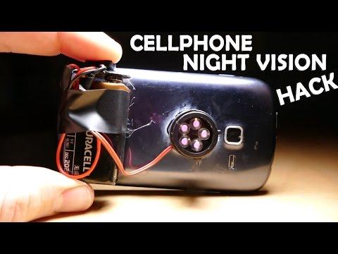 Amazing Night Vision Phone Hack 5 Spy Gadget