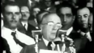 Presidente Getúlio Vargas - Discurso 1951