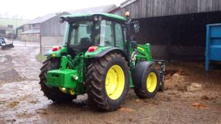 Farmers Guardian: John Deere 5R tractor with 583 loader