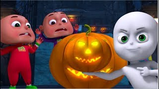 Five Little Babies In a Haunted Bungalow | Zool Babies Fun Songs | Halloween Songs | ScaryaND spooky
