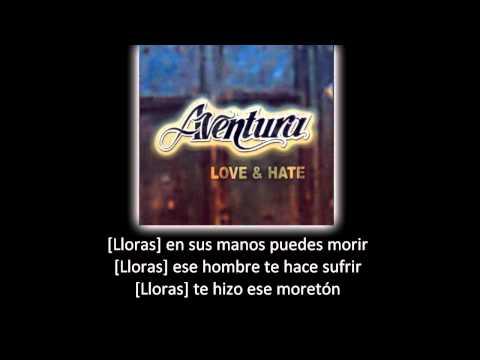 Aventura Hermanita lyric letra