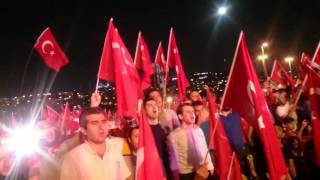 Boğaziçi Köprüsü Demokrasi Bulaşması İstiklal Marşı