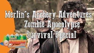 Merlin's Archery Adventures Zombie Apocalypse Special