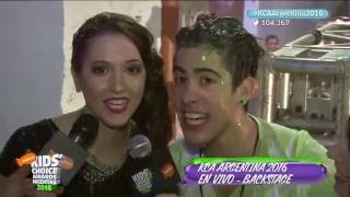 Backstage #2 | Kids Choice Awards Argentina 2016 | Detrás del escenario