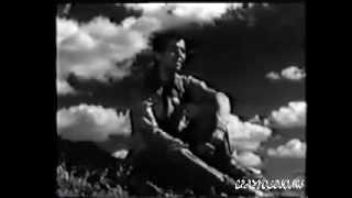 DOOB GAYE AKAASH KE TAARE - TALAT MEHMOOD - SAHIR -S D BURMAN ( ANGAAREY  1954)