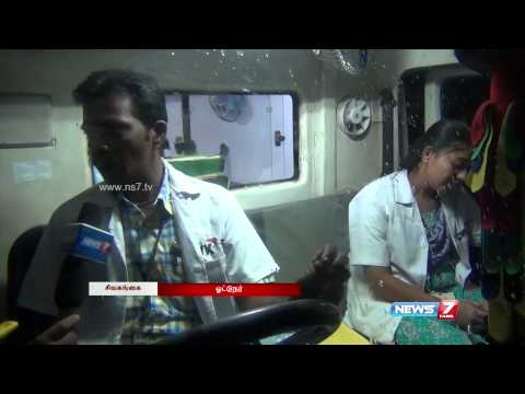 108 Ambulance workers toil through the night while Sivagangai sleeps