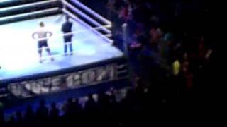 Monterrey Raw WWE Maryse & Rosa vs Eve & Gail Kim