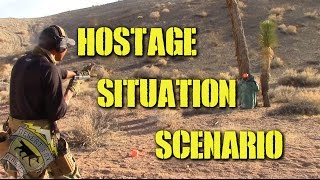DesertFox Airsoft: Hostage Situation Scenario (Real Firearms AR-15 and 1911)
