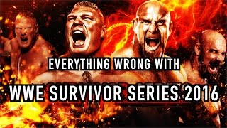 Episode #188: Everything Wrong With WWE Survivor Series 2016
