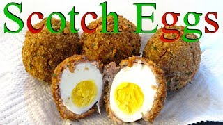 Scotch Eggs - Classic Fried Egg, Sausage and Breading - PoorMansGourmet