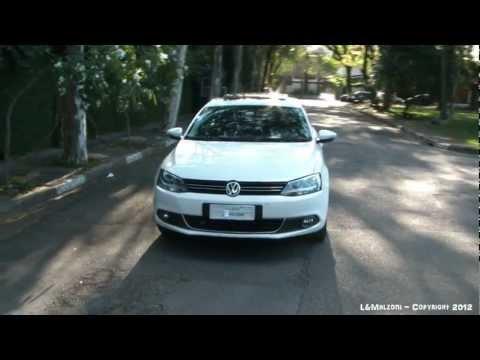 Vídeo de um VW Jetta 2.0 TSI 2012