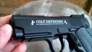 Colt Defender Review / Test Co2 4,5mm BB
