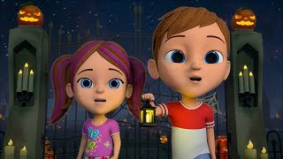 Hello Its Halloween | Spooky Nursery Rhymes | Halloween Videos For Toddlers by Little Treehouse