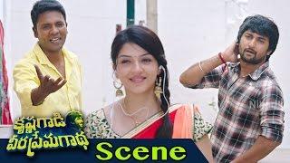 Nani, Mehreen And Vizag Rajesh Hilarious Comedy - Krishna Gaadi Veera Prema Gaadha Movie Scenes