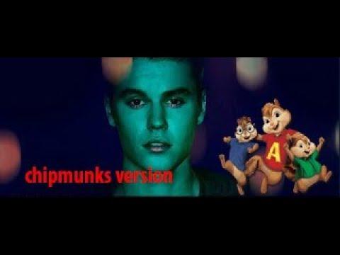 Justin Bieber - Unforgettable chipmunks cover version (New song 2018)