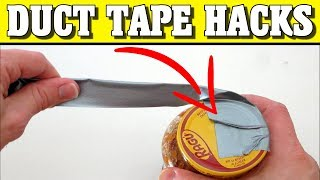 10 DUCT TAPE HACKS You Need To Know