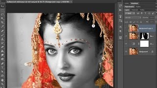 37.[Ps] Wedding Photo Edit  - Photoshop Tutorial [In Hindi]