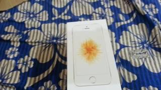 Amazon India: iPhone SE 32 GB GOLD Unboxing
