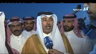 لقاء الشيخ شافي بن سالم الهاجري والشيخ عبدالعزيز  ال غشام شيخ شمل قبائل ذعي وبني قيس ال مستنير