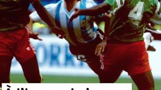 Quand le Cameroun battait l'Argentine de Maradona