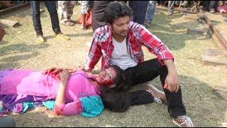 Mahiya Mahi Shooting |মাহিয়া মাহি Poramon Clip | Mahiya Mahi | Symon Sadik ,Bangladesh shooting