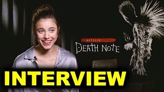 Death Note Interview - Margaret Qualley is Mia