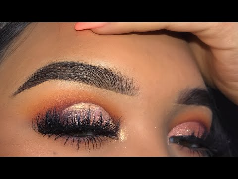 WARM TONED FALLHOLIDAY MAKEUP LOOK