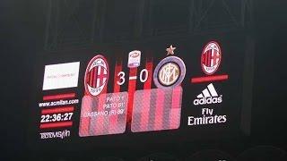 اهداف مباراة ميلان 3-0 انتر - الدوري الايطالي 2011