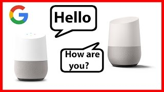 Two Google Home bots are talking about life