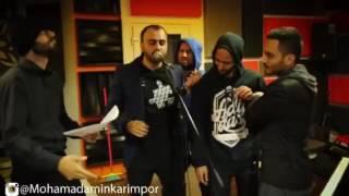 گروه محمد امین در مقابل پازل باند