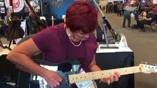 Surprise Guitar Try Out -- Paula Jo Taylor!