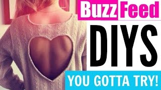 BuzzFeed DIYS YOU GOTTA TRY!!! | Cheap, Easy & Fun!