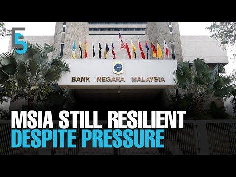 Xxx Mp4 EVENING 5 BNM Msia Resilient Despite Financial Strains 3gp Sex