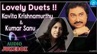Superhit of Kavita krishnamurthy &Kumar Sanu Bollywood Hindi Jukebox Songs