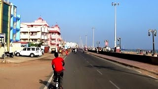 Puri Marine Drive Road from Light House to Puri Hotel - Odisha Tourism