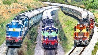 Final Stage of Electrification | MYSORE - BANGALORE Trains | Indian Railways