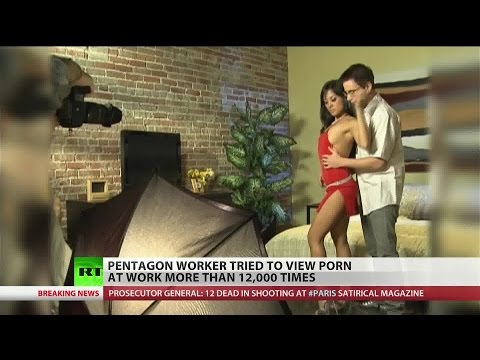 Pentagon worker viewed porn every two minutes for three months