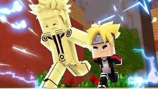 Minecraft: BORUTO - NARUTO KYUUBI E BORUTO NA MISSAO! #34
