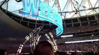 Wrestlemania 27 Opening + Pyro