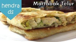 Martabak Telur - Resep Martabak Telur (Martabak Telur Homemade)
