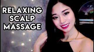 [ASMR] Chinese Scalp Massage (Ear to Ear Whispers)