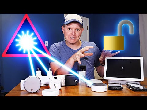 Breaking Into a Smart Home With A Laser Smarter Every Day 229