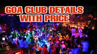 Goa beach & Club parties