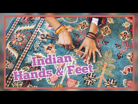 indian hands and feet....traditional arts and crafts of india