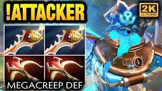 !Attacker Megacreep Def with 2x Divine Rapier and 2x Daedalus Dota 2
