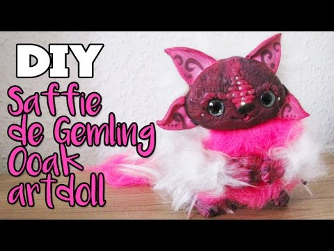 DIY Saffie OOAK Sprite Art Doll Tutorial