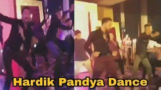 video ? Hardik pandya Dance at Virat and Anushka Mumbai reception