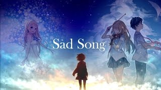 [AMV] - Sad song - (Anime mix)