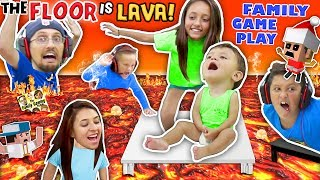 FLOOR IS ACTUALLY LAVA CUZ WE AIN