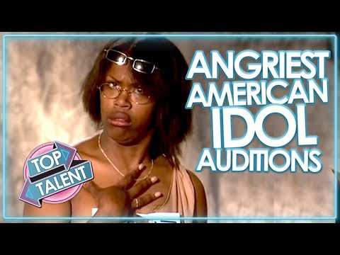 Xxx Mp4 ANGRY Amp RUDEST AUDITIONS ON AMERICAN IDOL 3gp Sex